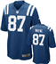 Indianapolis Colts - R. Wayne #87 Home Jersey