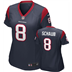 Houston Texans - M. Schaub #8 Woman Jersey