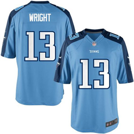 Tennesee Titans - K. Wright #13 Home Jersey